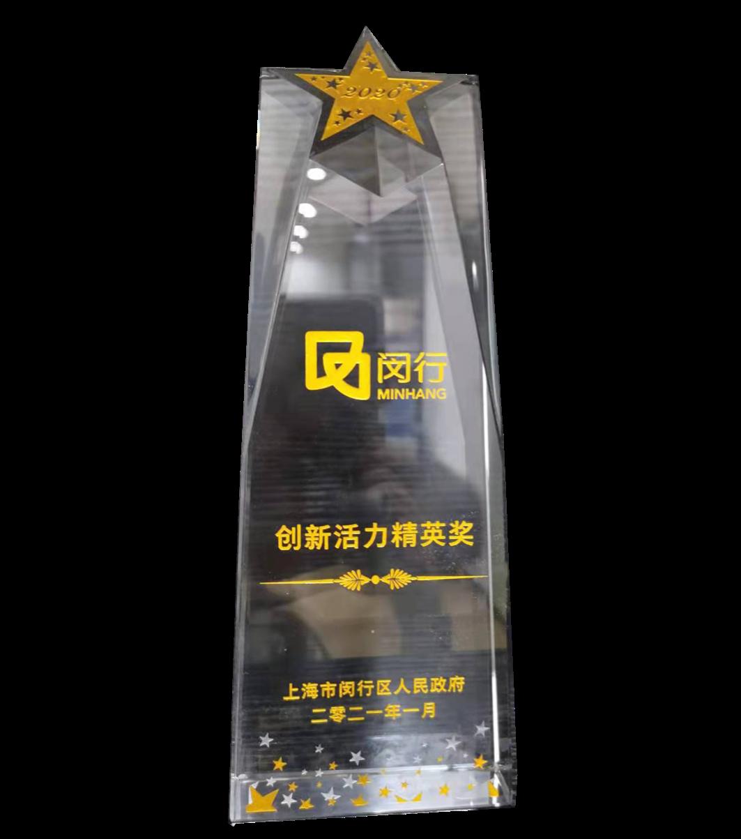 2020年度闵行区创新活力精英奖